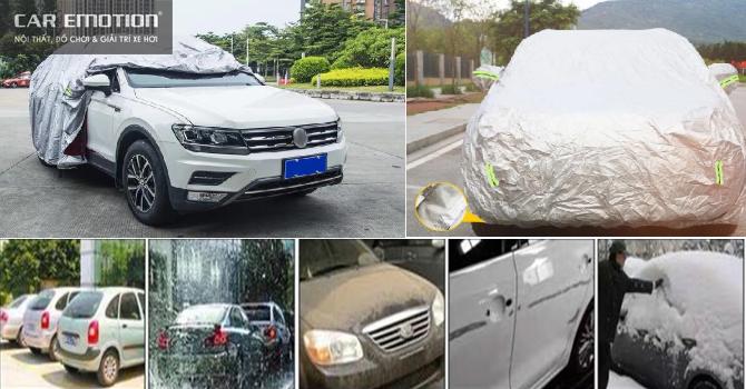 bạt che nắng che mưa dành cho xe ô tô, xe hơi cao cấp